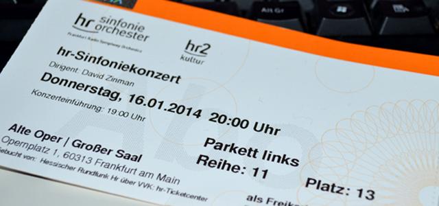 Konzertcouch 2014-01 Entrittskarte