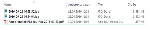 Kleine PDF-Dateien für ein Fotoprotokoll erstellen Screenshot 4